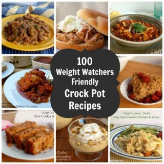 Slow Cooker Weight Watchers Recipes.