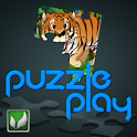 Puzzle Play Animals logo