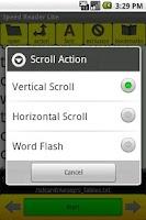 Screenshot of Speed Reader Lite