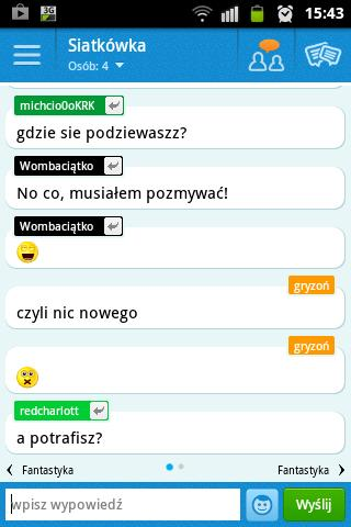 CZATeria - czat, chat online - screenshot