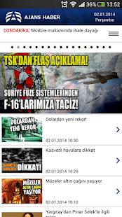 Ajans Haber - screenshot thumbnail
