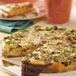 Cheddar-Veggie Appetizer Torte Recipe