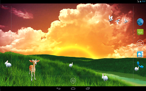 S5 Grass Land Live Wallpaper- screenshot thumbnail