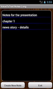 VoiceToText Notes Long - screenshot thumbnail