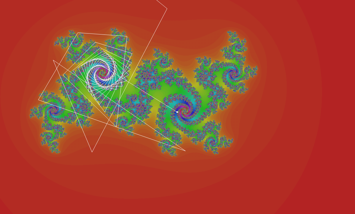 Fractals - PottyFract - screenshot