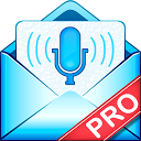 Write SMS by voice PRO mobile app icon