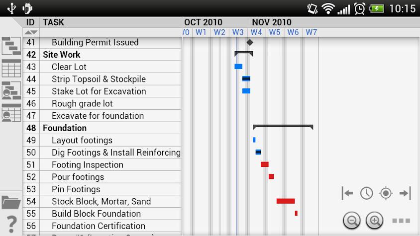 Project Viewer Screenshot