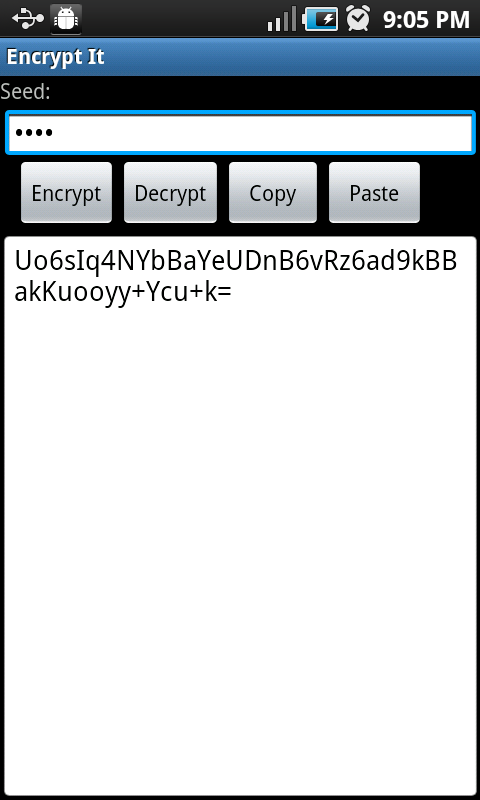 Encrypt It - MkII- screenshot