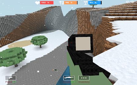 Cube Gun 3D : Winter Craft 1.0 screenshot 44134