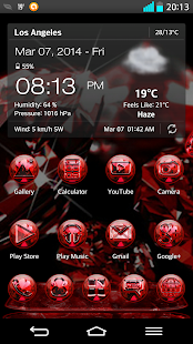 NEXT LAUNCHER 3D THEME RUBIN- screenshot thumbnail