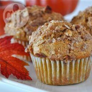 Wholemeal Pumpkin Muffins.