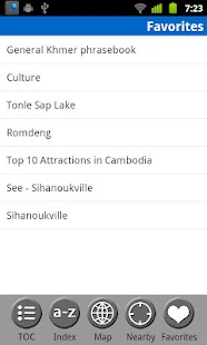 Cambodia - FREE Travel Guide- screenshot thumbnail