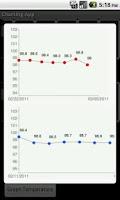 Screenshot of Charting App