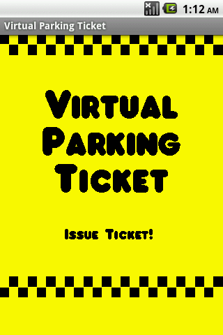 Virtual Parking Tickets