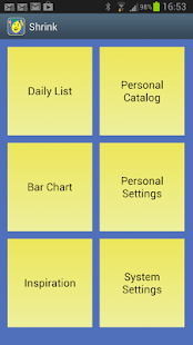 Shrink - Calories & Diet Diary- screenshot thumbnail