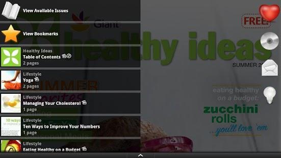 Giant Food Healthy Ideas - screenshot thumbnail