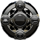 GO Locker theme Black Diamond icon