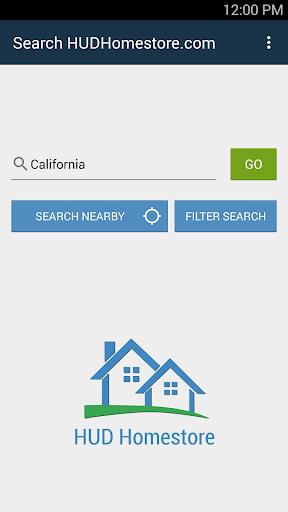 HUDHomestore Mobile Search