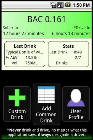 Blood Alcohol Content Calc 2.0- screenshot