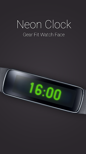 Neon Clock for Gear Fit