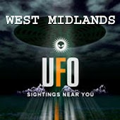 West Midlands UFO Sightings