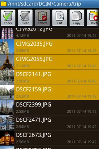 File Manager PRO- screenshot