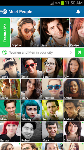 Skout is an app that makes it naturally easy to meet both new friends and  potential hook ups. From bars in Barcelona to cafés in Chicago, millions of  people ...