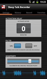 Sleep Talk Recorder - screenshot thumbnail