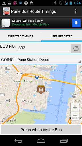 Pune PMPML Bus Route Timings