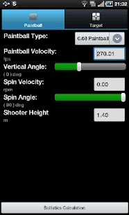 Paintball Ballistics - screenshot thumbnail