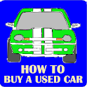 How to Buy a Used Car logo