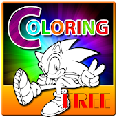Sonica Coloring Kid Games