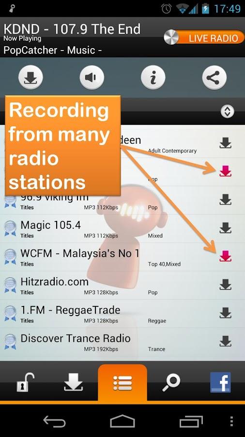 PopBot - Radio Music - screenshot