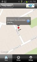 Screenshot of Auckland Coop Taxis