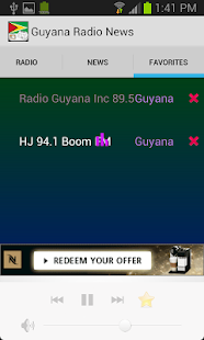 Guyana Radio News - screenshot thumbnail