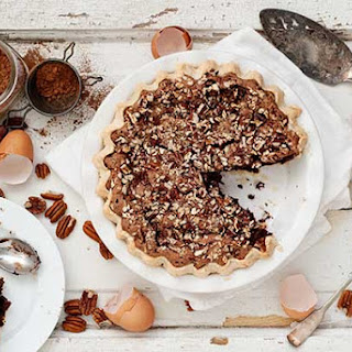 Gluten Free Chocolate Pecan Chess Pie.