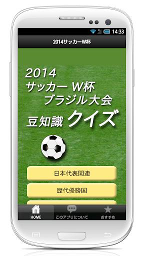 2014サッカーワールドカップ クイズ