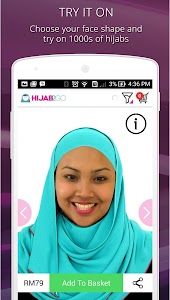 Hijab Fashion Photo Shopping screenshot 2