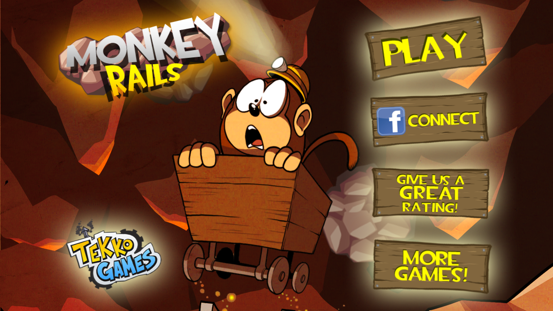 Monkey Rails- screenshot