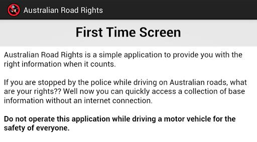 Australian Road Rights