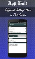Screenshot of App Locker-App Bolt