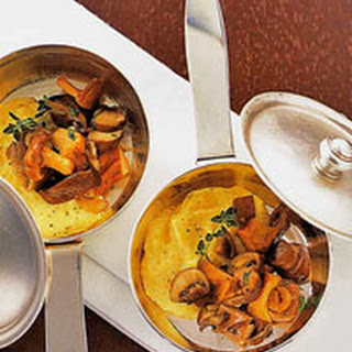 Soft Polenta with Forest Mushrooms