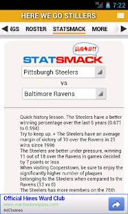 NFL by StatSheet - screenshot thumbnail