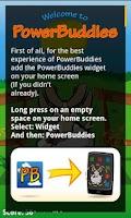 Screenshot of PowerBuddies