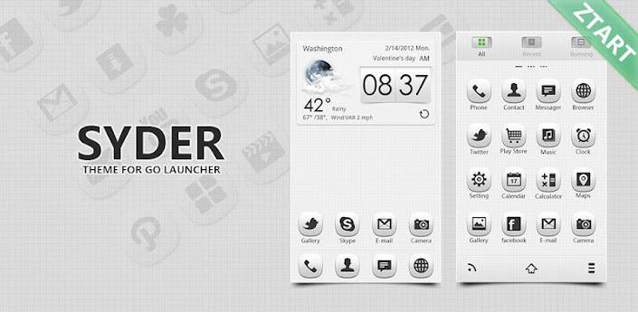 Syder GO Launcher EX Theme apk