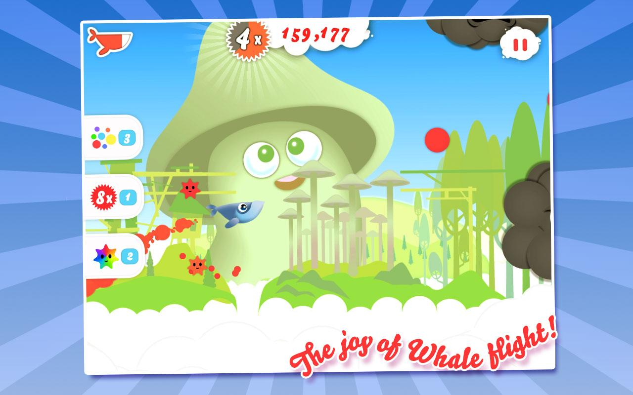 Whale Trail Frenzy- screenshot