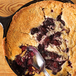 Meme's Blackberry Cobbler