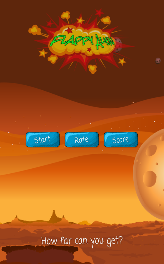 Flappy Alien- screenshot