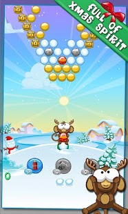 Bubble Monkey Xmas- screenshot thumbnail
