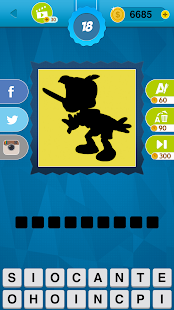 Shadow Quiz Game - Cartoons- screenshot thumbnail